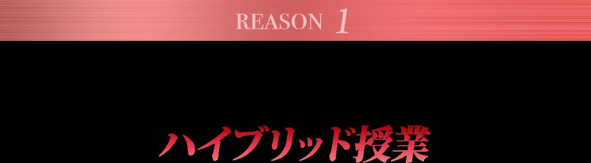 理由1.経験豊富な日本人講師とネイティブ講師のハイブリッド授業